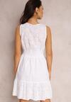 Biała Sukienka Neridella