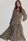 Granatowa Sukienka Ivietta