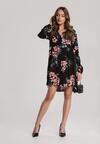 Czarno-Różowa Sukienka Glyslisa