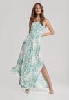 Jasnozielona Sukienka Zelithea