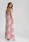 Różowa Sukienka Zelithea