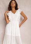 Biała Sukienka Kahlileia