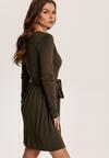 Ciemnozielona Sukienka Brileh