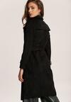 Czarny Płaszcz Usinlenne