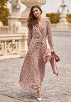 Różowa Sukienka Ariestila