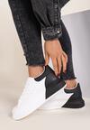 Biało-Czarne Sneakersy Nereilea