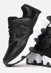 Czarne Sneakersy Leurianne