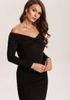 Czarna Sukienka Rhelvia