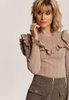 Beżowy Sweter Thalela