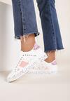 Biało-Różowe Sneakersy Shylith