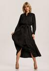 Czarna Sukienka Corothise