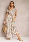 Różowa Sukienka Nahfa