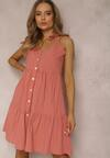 Łososiowa Sukienka Corirea