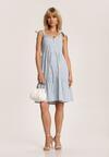 Niebieska Sukienka Corirea