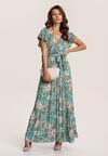Zielona Sukienka Phereino