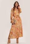 Żółta Sukienka Isiraya