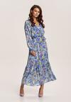 Niebieska Sukienka Ryrevera