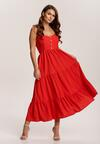 Czerwona Sukienka Aezlenne