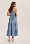 Niebieska Sukienka Aezlenne