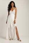 Biała Sukienka Helysha