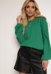 Zielony Sweter Meridieth