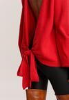 Czerwony Sweter Meridieth