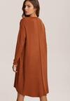 Camelowa Sukienka Penoth