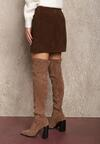 Brązowa Spódnica Eshirryss