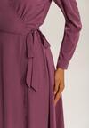 Fioletowa Sukienka Yrelieth