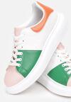 Biało-Różowe Sneakersy Penrahne