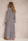 Granatowa Sukienka Berinlia