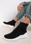 Czarne Sneakersy Fontanne