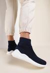 Granatowe Sneakersy Fontanne