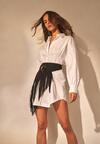 Biała Sukienka Ynisthine