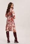 Różowa Sukienka Inoceneia