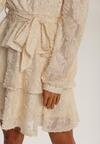 Kremowa Sukienka Protomedelia