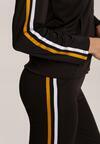 Czarno-Żółty Komplet Dresowy Krynnys