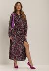 Granatowa Sukienka Liberi