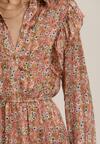 Różowa Sukienka Geranara