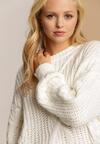 Biały Sweter Amuremsis