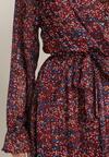 Bordowa Sukienka Ygannea