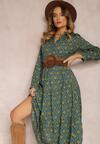 Zielona Sukienka Amphiro