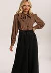 Czarne Spodnie Culottes Fyrielle