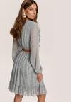 Jasnoniebieska Sukienka Trisrieth