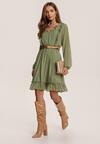 Zielona Sukienka Trisrieth
