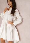 Biała Sukienka Zarinesha