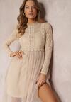 Beżowa Sukienka Aeznessa