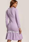 Jasnofioletowa Sukienka Drentarish
