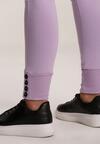 Jasnofioletowe Spodnie Jynona