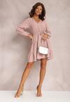 Różowa Sukienka Fyranne
